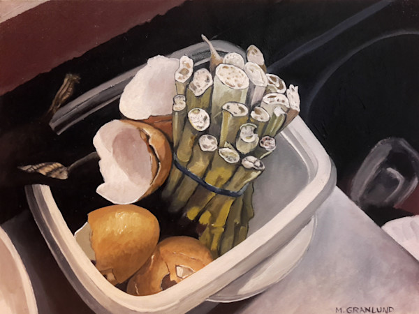 Sinkside Compost 4 Painting by Mark Granlund