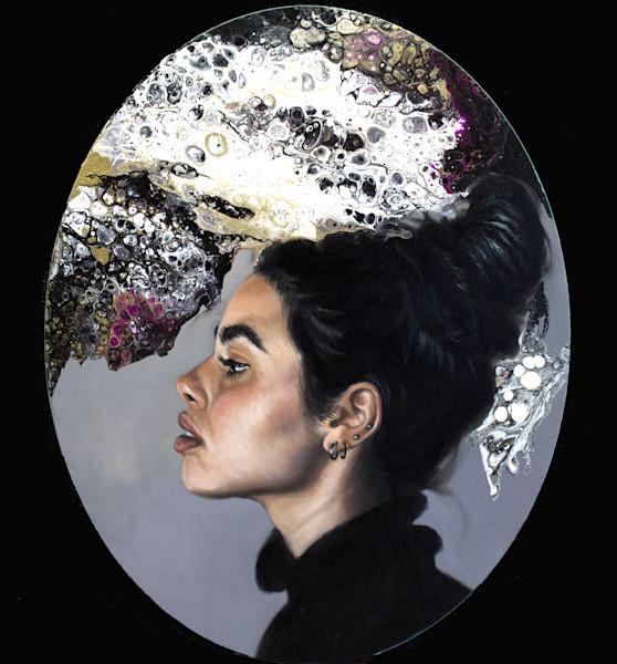 Oval portrait 2