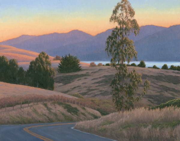 View From Hwy 1 Art | Terry Sauve Fine Art