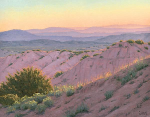 Violet Hills Aglow Art | Terry Sauve Fine Art