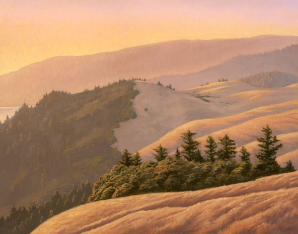 View From The Ridgeline Art | Terry Sauve Fine Art