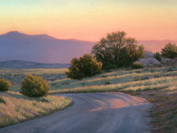 Where The Road Leads Art | Terry Sauve Fine Art