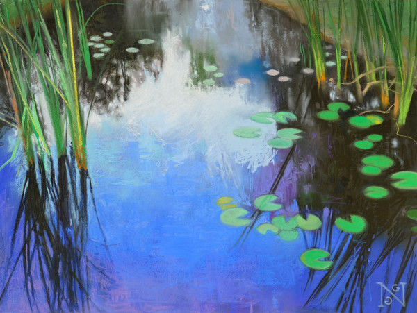 The Gazing Pond Art for Sale