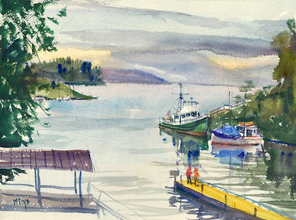Pacific North West 2014 fine art print by Bill Doyle.