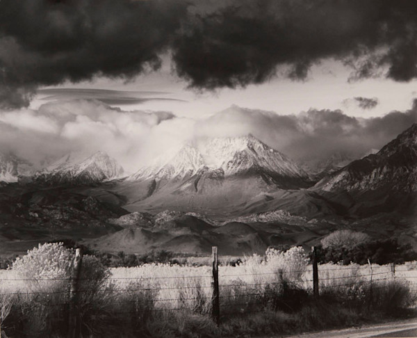 Basin Mountain, Approaching Storm by Bruce Barnbaum fine art photograph for sale