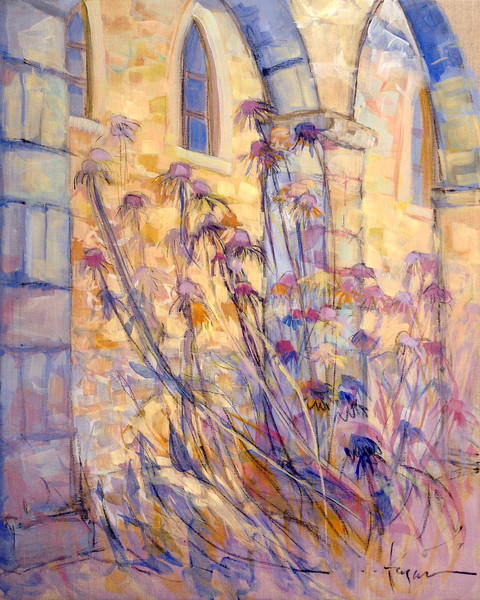 Festive France Paintings & Prints by Dorothy Fagan