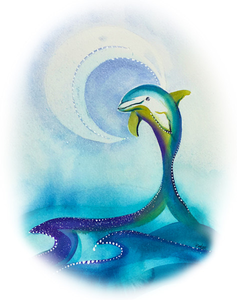 Dolphin Moon Dance-fade