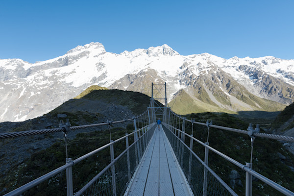 Hooker Valley Suspension Bridge