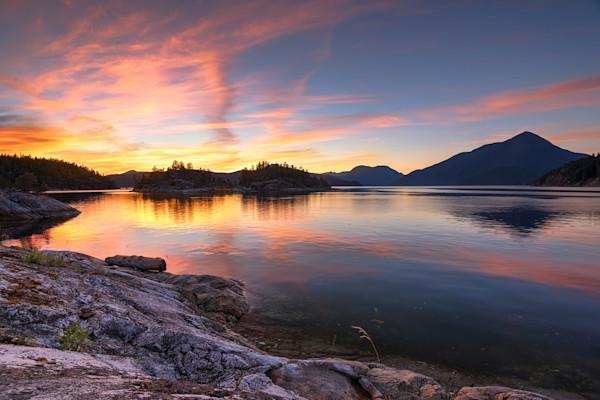 Desolation Sound Sunset