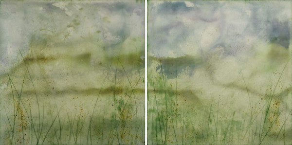 Tell Me Everything | 48x24 on Two Panels
