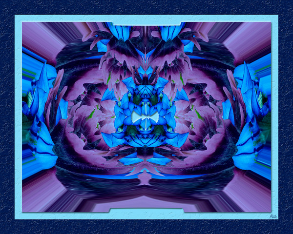 Arctic Paintbrush No. 3 print of photographs transformed into digital art for sale by Maureen Wilks