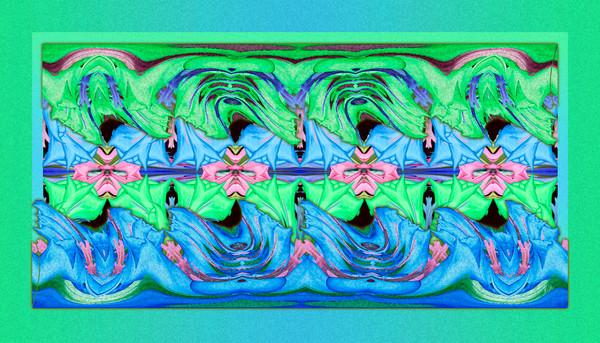 Gentian Waves No. 3