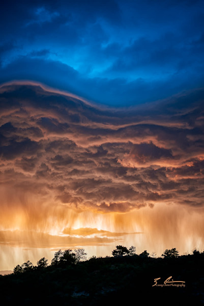 Casey Chinn Photography - Custom metal fine art photographs of clouds and stormy weather.