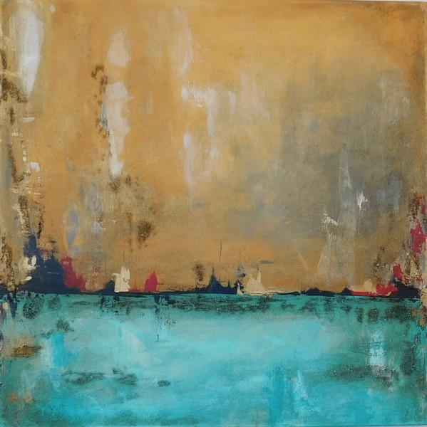 abstract, sea, calm, peace, sky, escape