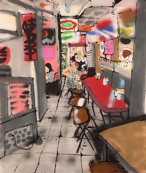 Brandon Sines Art Available on Wet Paint NYC - New York Artist - Street Art