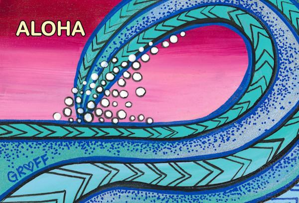 Tribal Wave postcard