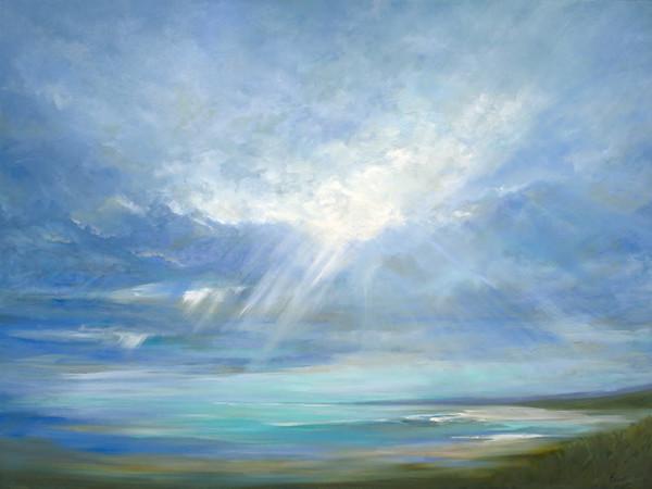 Heavenly Light 16 by Sheila Finch