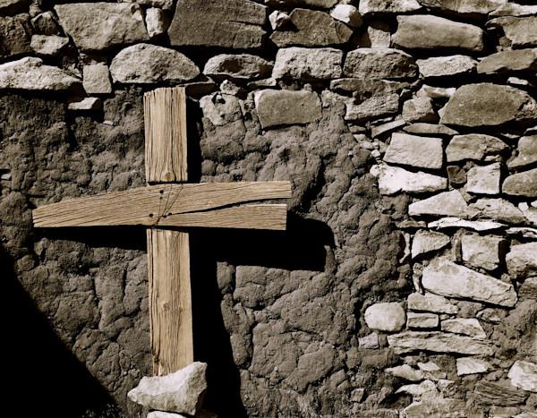 Cross in Spanish Ruins