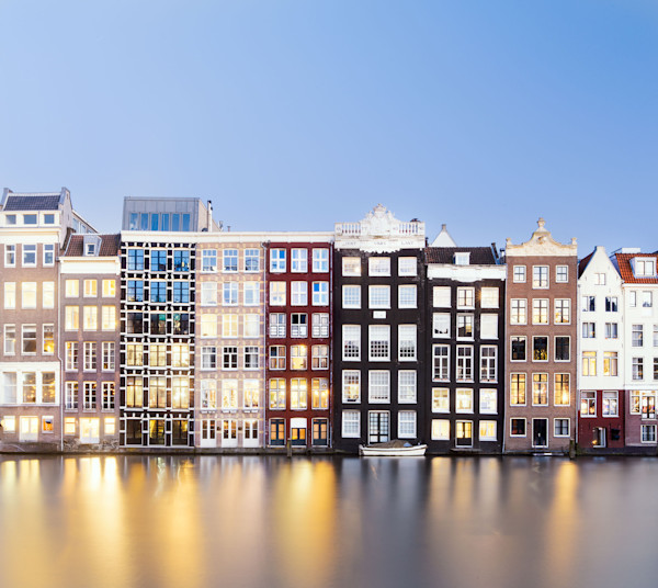 Canal Dwellings of Amsterdam