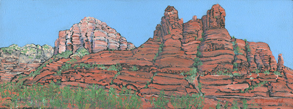 Bell Rock Cloudless Day