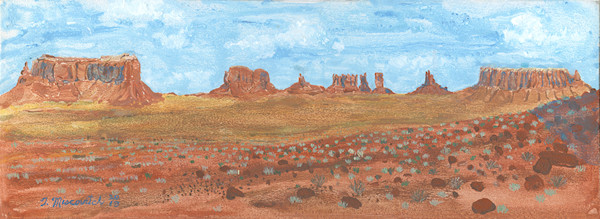 Monument Valley from Gouldings Trading Post