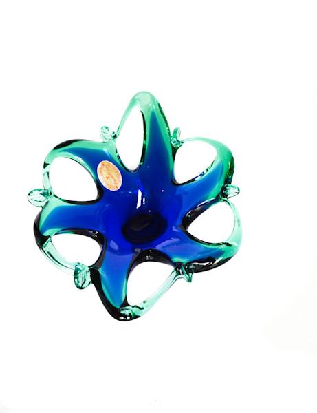 Murano Star Art Glass Bowl