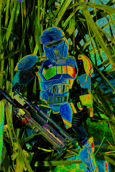 Img 1017 Oil Solar Trooper Edit 4000 X6000 Bs Art | Oz Fine Art Studio