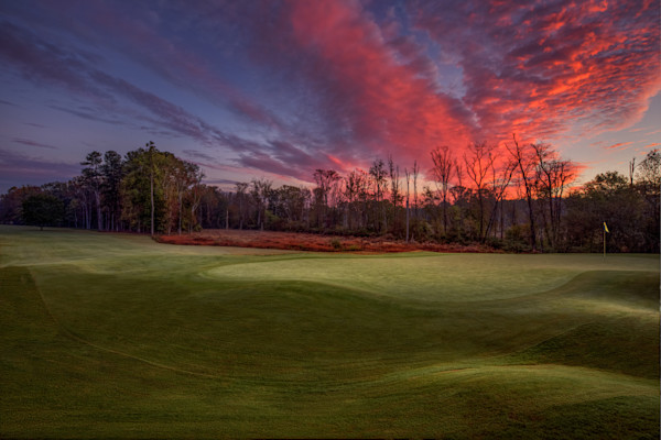 Golf Club of Georgia, Creekside Course, Dawn on the 12th Hole