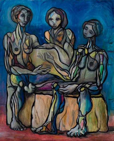Three Women By Spring