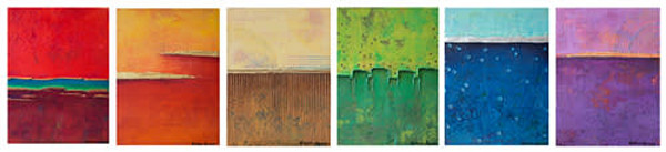 Rainbow Series - Set of Six