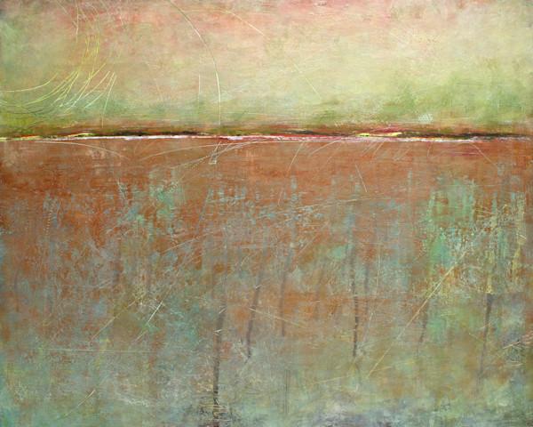 Easter Sunset - Coastal Wall Art - Orange Paintings