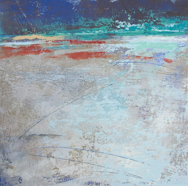 Cobalt Chorus - Seascape Paintings - Blue Wall Art