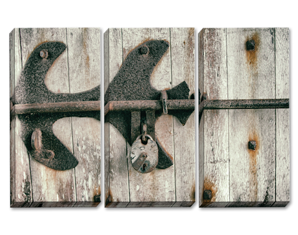 Lock and Key Triptych