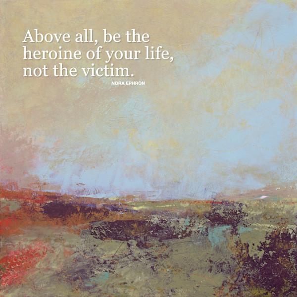 Blue Promise - Inspirational Women Quotes - Ephron