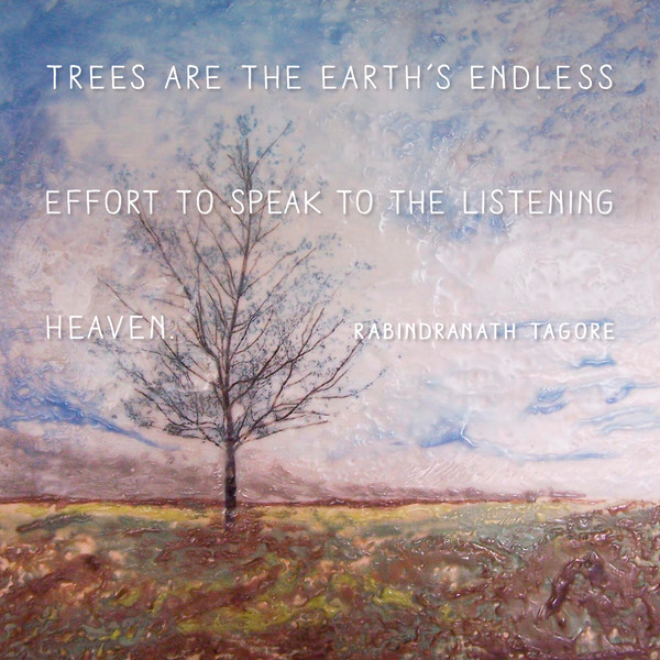 Praying Maple - Inspirational Wall Quotes - Tagore