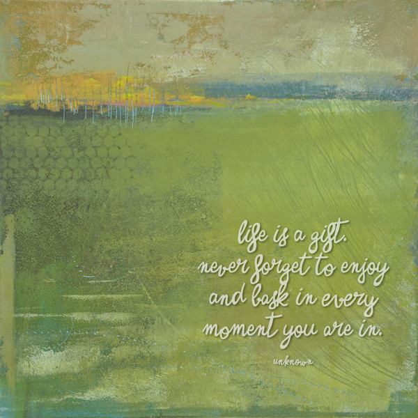 """Above Anything - """"Life Is"""" Quotes on Canvas - Wall Art"""