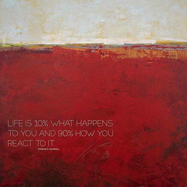 "Merlot Passage - ""Life Is"" Quotes on Wall Art - Swindoll"