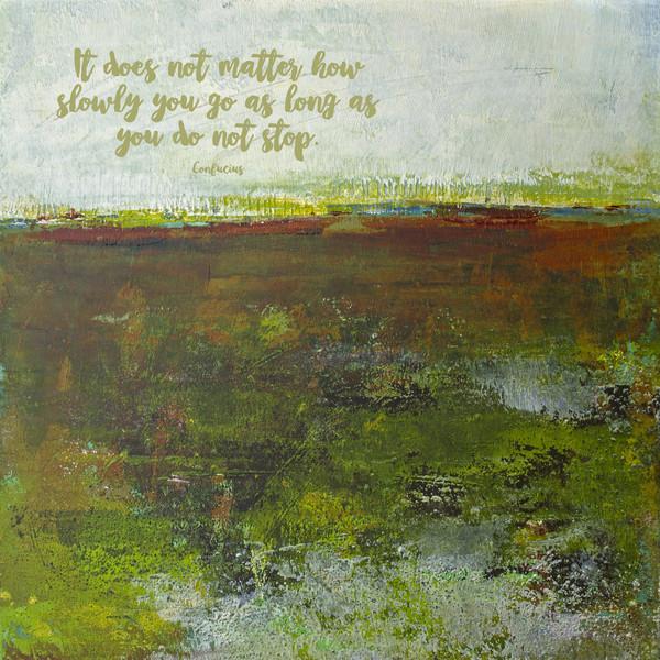 Spring Eternal - Zen Quotes on Wall Art - Confucius