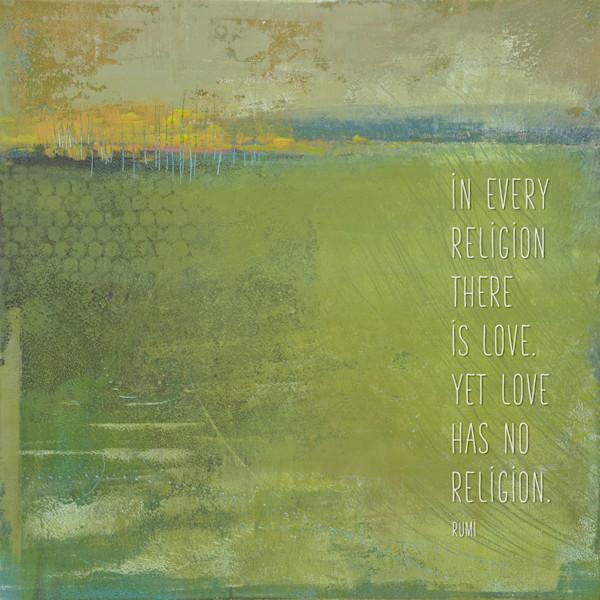 Above Anything - Zen Wall Art - Rumi