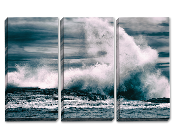Capsizing The Sea Triptych