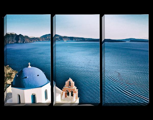 Million Dollar View Triptych