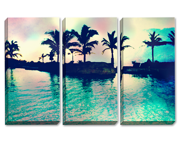 Cheeseburger In Paradise Triptych