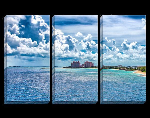 My Blue Heaven Triptych