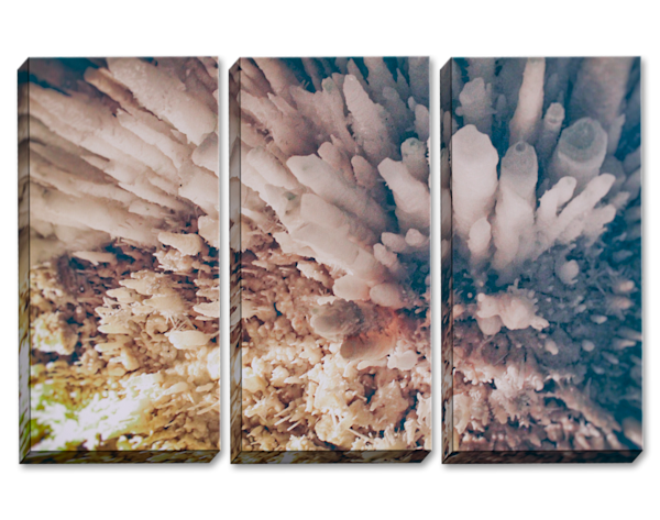 Crystal Cave Triptych