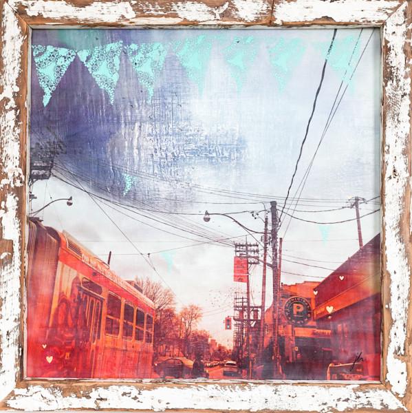 Toronto Streetcar Painting | Jannet Haitas Artist