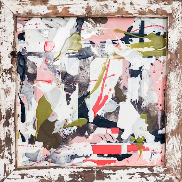 Textured Abstract Art | Jannet Haitas Artist