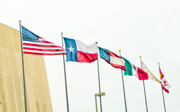 University of Texas, Flags Flying