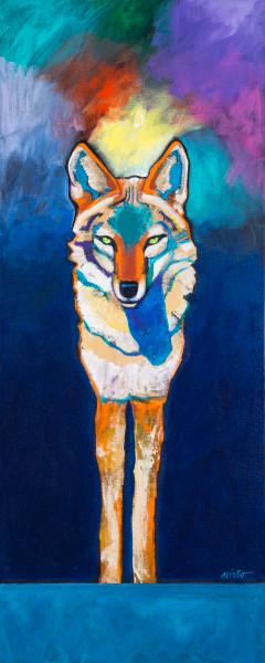 Coyote Aurora | John Nieto Open Edition Giclee