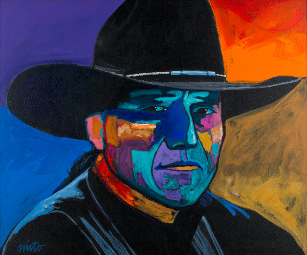 Self Portrait | John Nieto Art Open Edition Giclee