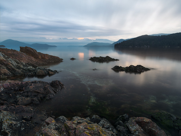 Stillness In the Early Hours - Soames Beach, Gibsons